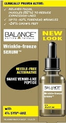 Wrinkle-Freeze 4% SynAke - efekt botoxu